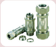TUBE FITTINGS<br>CS – ELBOWS, UNION & TEES<br>SS - ELBOWS, UNION & TEES & MALE STUD COUPLING