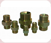 CARBON STEEL – JIC, BSP, METRIC, NPT & ORFS FITTING